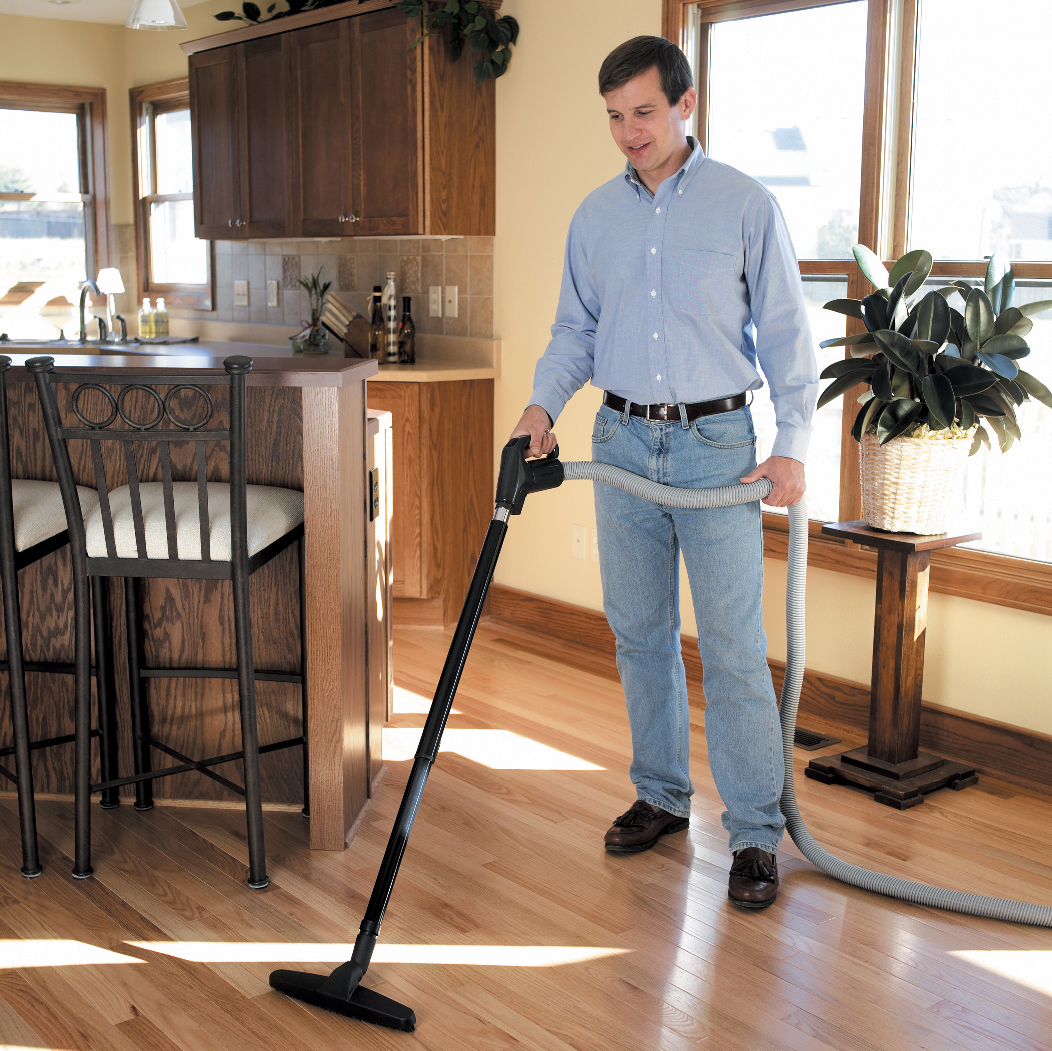 benefits of central vaccum